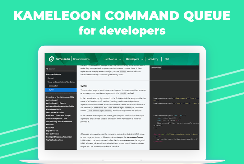 Kameleoon Command Queue