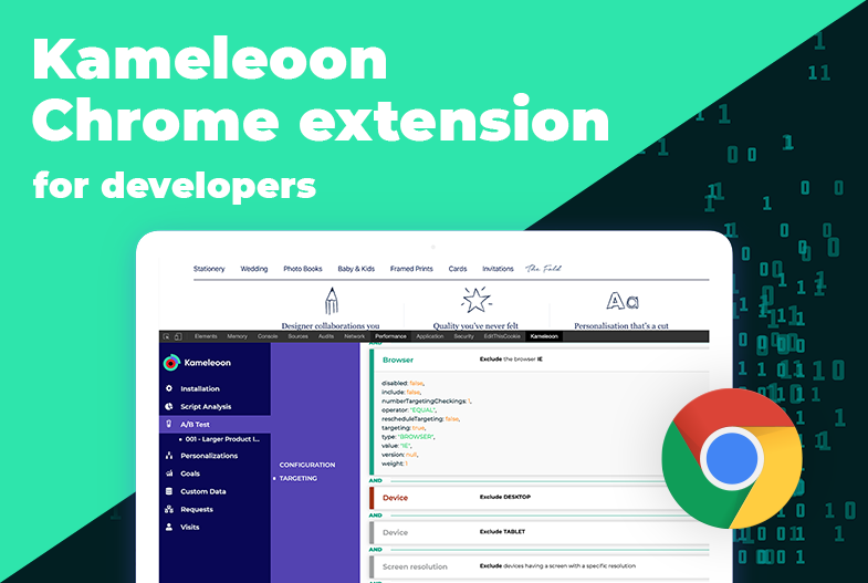 Kameleoon Chrome Extension