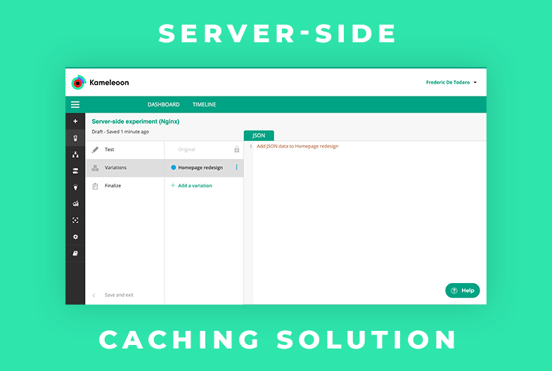 Caching and server-side testing