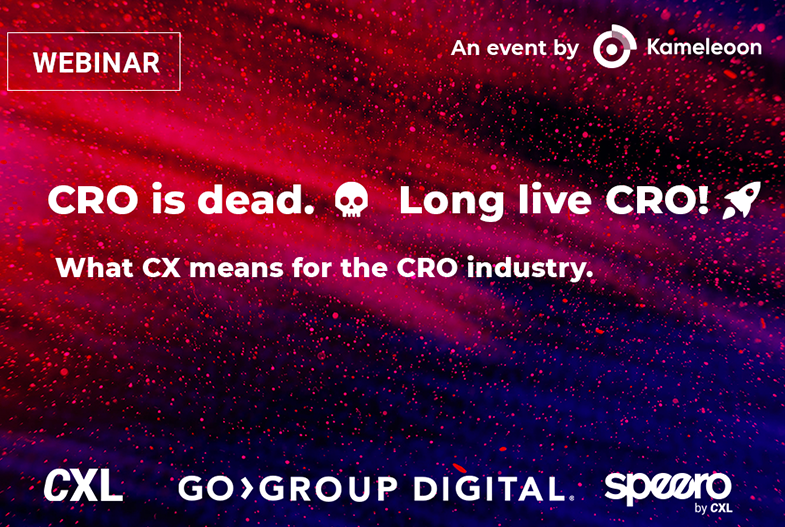 CRO is dead. Long live CRO!