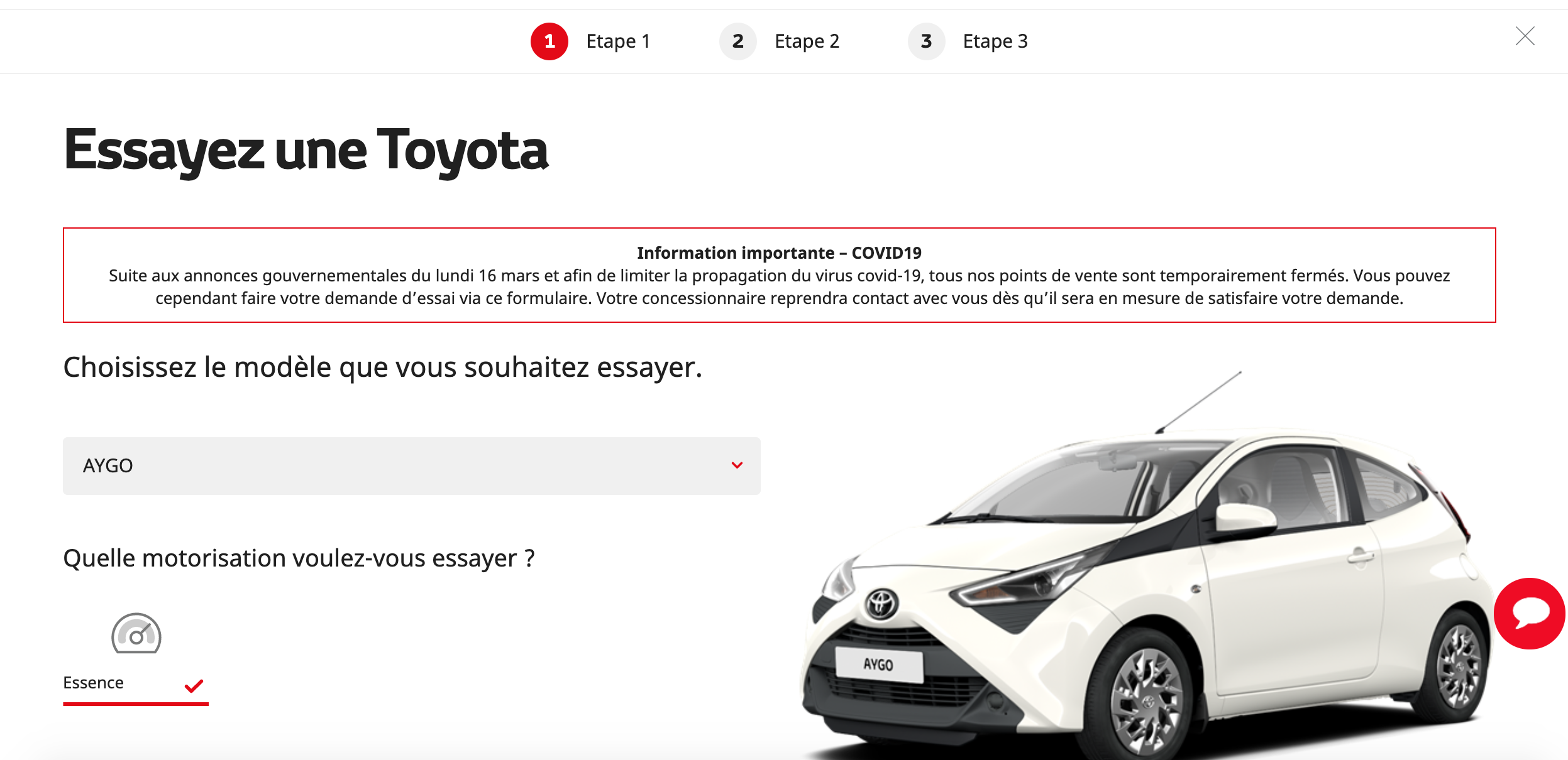 Toyota exemple covid19