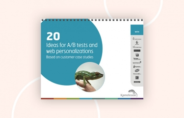 20 ideas ab tests personalizations ebook
