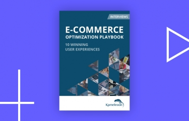 ecommerce optimization playbook