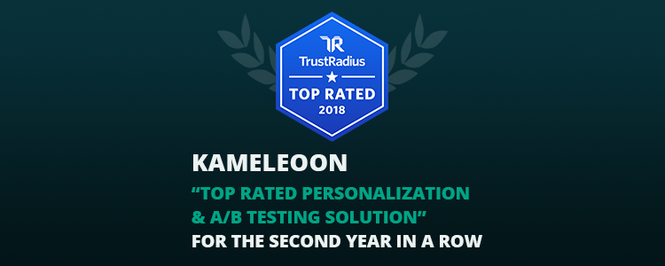 kameleoon-top-rated-personalization-a-b-testing-solution-trustradius