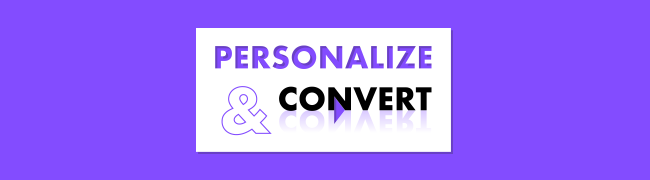 Personalize & convert 2019